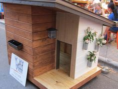 How adorable is this doghouse from Barkitecture 2011?!