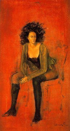 Portrait de Meret Oppenheim, Leonor Fini