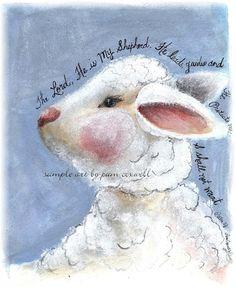 Lamb-I Shall Not Want   Psalm 23