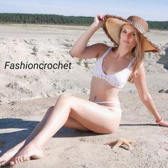 Crochet swimsuit Sofi by FashionOnCrochet on Etsy