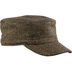 The Flat Top Cap with Harris Tweed | Stormy Kromer