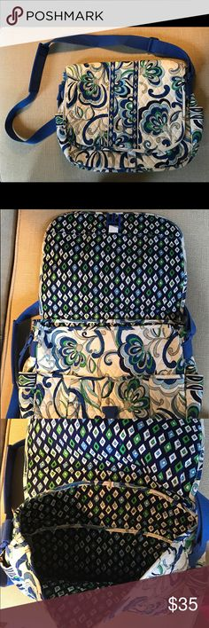 VERA BRADLEY TRAVEL BAG Cross body Vera Bradley, never used!! Vera Bradley Bags Satchels