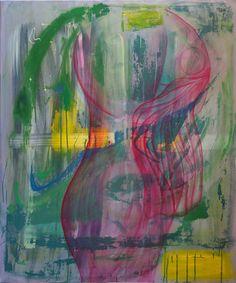 """""""Gläserne Frau"""", 120 x 100 cm, Öl auf Leinwand, Martina Kolle"""