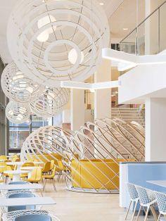Lounge Corporativo. Designer: HEYLIGERS Design+Projects. Fotógrafo:  Rick Geenjaar.