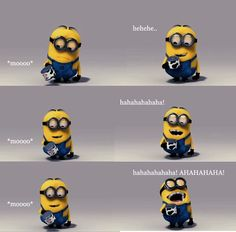 Haha is it bad the minions remind me of me and my friends @Shelly Figueroa Figueroa Readling @Hannah Mestel Mestel