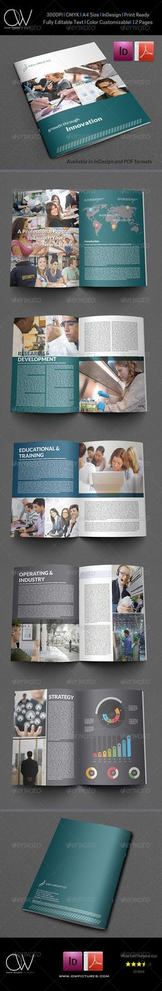 Company Brochure Template Vol.13 - 12 Pages