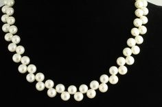 Freshwater Pearl Necklace. Listing 59196361 by Ptcreationsjewelry, $35.00