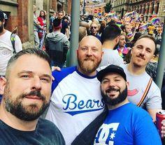 All those beautiful beards!   Still time to enter our competition!  #beard #beards #beardy #bearded #beardedman #beardedmen #beardedgentleman #beardlife #beardlove #beardlover #beardporn #beardsandtattoos #beardsofinstagram #beardstagram #instabard #teambeard #beardclub #allthebeards #fortheloveofbeards #Bristlr #ShowUsYourBristles #BareYourBeard  regram @andylove100 #bristlrpride #beards #manchesterpride