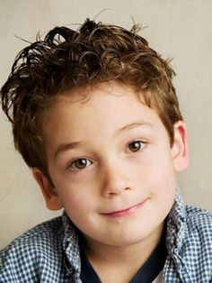 Curly Hair Boys on Pinterest | Boys Curly Haircuts, Curly Hair Men ...