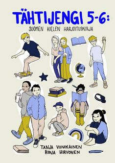 Suomen kielen harjoituskirja Learn Finnish, Teaching, Comics, Grammar, Education, Cartoons, Comic, Comics And Cartoons, Comic Books