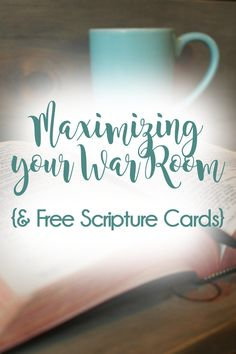 Scripture Cards for War Room.