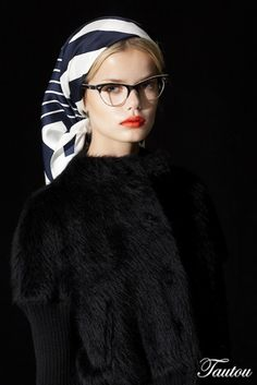 Trendy how to wear hijab with glasses 66 Ideas How To Wear Hijab, How To Wear Scarves, Buy Prescription Glasses Online, Wearing Glasses, Girls With Glasses, Bad Hair Day, Scarf Hairstyles, Bandanas, Eye Glasses