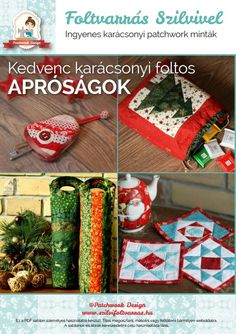 Patchwork kezdőknek – gépi applikálás | Patchwork Design Baby Quilt Patterns, Patchwork Designs, Mary Poppins, Baby Quilts, Advent Calendar, Holiday Decor, Totes, Advent Calenders, Baby Afghans