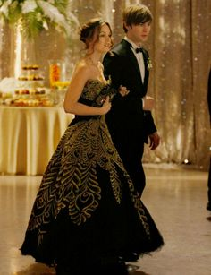 How could TV's best prom dress be worn by anyone but the infamous Upper East Sider? The beautiful gown showed up at Blair's house without a card, leaving her to believe it was from Chuck trying to ruin her night with Nate. Guess we'll never really know! XOXO, Seventeen MORE: Unique Prom Dresses