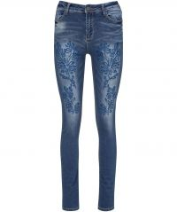 Creative Cutwork Jeans