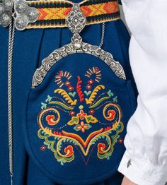 Norwegian Clothing, Folk Clothing, Beautiful Costumes, Folk Costume, Norway, Fashion Backpack, Embroidery, My Favorite Things, Clothes