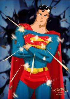 Superman -Waste of Bullets by DESPOP.deviantart.com on @DeviantArt