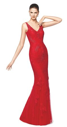 NILIA - Mermaid cocktail dress. Pronovias 2015 | Pronovias