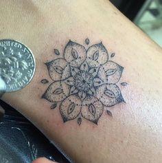 mini mandala tattoo