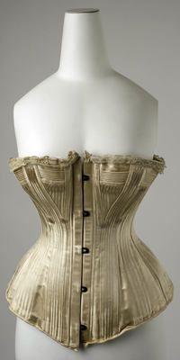 cca4c0da16 Object Name Wedding Corset Date 1890s Victorian Corset