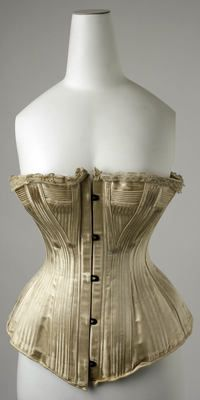 Object Name  Wedding Corset  Date  1890s