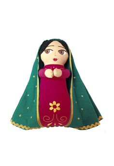 Madonna - Plush Doll - Handpainted