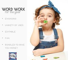 This BUNDLE has 337 pages of original first grade word work activities for the entire year that were carefully crafted with the first grader in mind. Modalities vary so students stay highly engaged. This bundle also includes EDITABLE sheets for you to create your own word work. All of the directions for editing are included! PERFECT FOR DAILY 5, CENTERS, OR HOMEWORK!