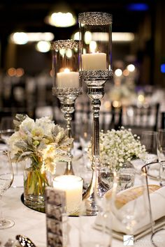 Silver hues with touches of ivory - Kind of reminds me of beauty and the beast theme