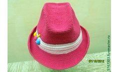 Как связать шляпу для ребенка. Описание