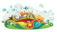 Podemos decir que Smart City o Ciudad Inteligente es aquella ciudad capaz de gestionar los recursos y las fuentes de energía de forma eficiente con la finalidad de mejorar la calidad de vida de las personas y su entorno, creando un espacio más sostenible desde el punto de vista energético, de los transportes, del medioambiente, de la gestión de las administraciones, etc. Disney Characters, Fictional Characters, Shape, Smart City, Internet Of Things, Environment, Future Gadgets, Fonts, Innovative Products