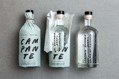Mezcal Campante branding and packaging #InspoFinds