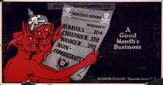 Apparently the Red Skull was not a marvel invention. Examples of Propaganda from WW1 | American WW1 Propaganda Posters Page 18