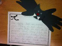 The Lesson Plan Diva: Freebie!! Bat Non-Fiction Writing