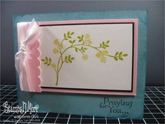 Thoughts & Prayers by Lorien Clark by vz5dzh - Cards and Paper Crafts at Splitcoaststampers