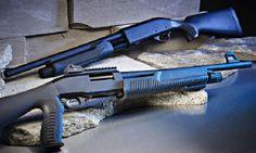hand guns, shotgun, home defense