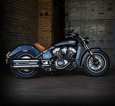 This midsize bike has plenty of power & stylish retro design with its liquid-cooled engine, cast aluminum frame and fleet-sided fenders. Find price and colors for the 2020 Indian Scout Motorcycle. Bobber Motorcycle, Motorcycle Design, Motorcycle Style, Bike Design, American Motorcycles, Cool Motorcycles, Vintage Motorcycles, Indian Scout Bike, Indian Motors