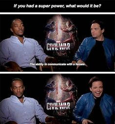Anthony Mackie knows his shit