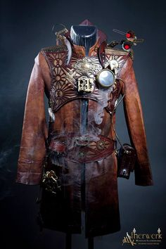 Mage of Time Steampunk Armor #provestra