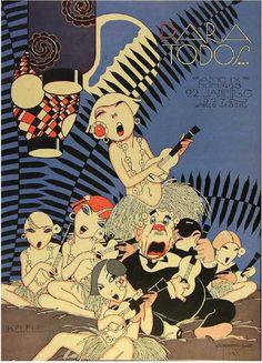 J. CARLOS  Para Todos, 1927.