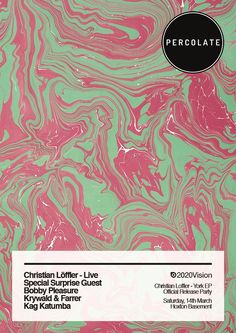 Percolate | 2020Vision Recordings | York EP Launch | Christian Löffler