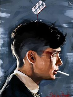 Peaky Blinders - Tommy Shelby by KevinMonje on DeviantArt Peaky Blinders Poster, Peaky Blinders Wallpaper, Peaky Blinders Series, Peaky Blinders Quotes, Peaky Blinders Tommy Shelby, Peaky Blinders Thomas, Cillian Murphy Peaky Blinders, Vikings Tv, Good Day Song