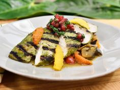 Get Cilantro Citrus Roasted Chicken Recipe from Food Network