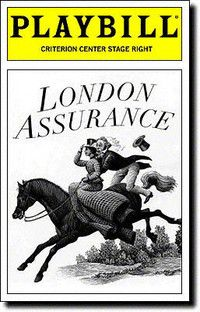 London Assurance at the Criterion Center Stage Right. Opening Night April 30, 1997.