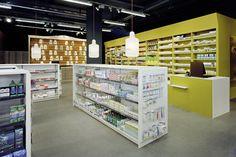 Bureau Hindermann - Wellness-Apotheke GmbH, CH-Horw /// Innenarchitektur/Ausstellungsdesign/Produktdesign