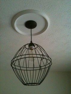 DIY Farmhouse Light Fixture