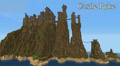 minecraft castles | Pyke Castle Minecraft Project