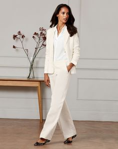 Cotton Linen Blazer and pants