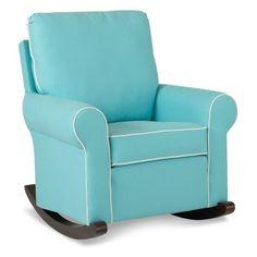 Nursery Classic by Klaussner Suffolk Rocking Chair White Wooden Rocking Chair, Glider Rocking Chair, Rocking Chair Nursery, Rocking Chairs, Fur Chairs, Nursery Rocker, Baby Rocker, Lounge Chairs, Eames