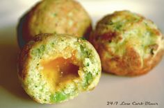 Broccoli Bites! What a fun way to eat broccoli and cheese. Made in a cakepop appliance. Fun! #lowcarb, #glutenfree