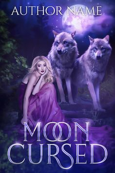 premade paranormal cover art with woman and wolves Premade Book Covers, Paranormal, Cover Design, Cover Art, Wolf, Prints, Movie Posters, Film Poster, Popcorn Posters